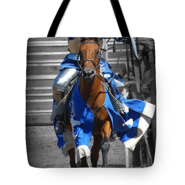 Renaissance Knight Tote Bag