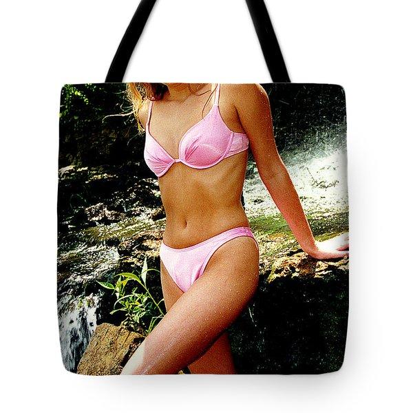 Rene Waterfall Tote Bag by Gary Gingrich Galleries