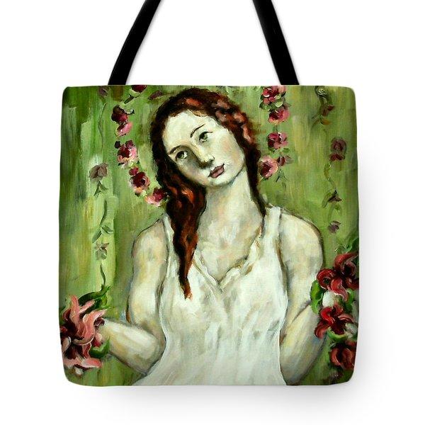 Renewal Tote Bag by Carrie Joy Byrnes
