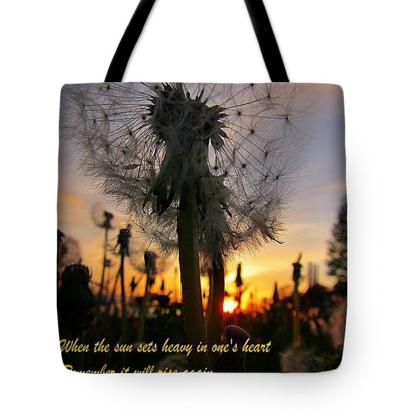 Renewal Tote Bag by John Malone