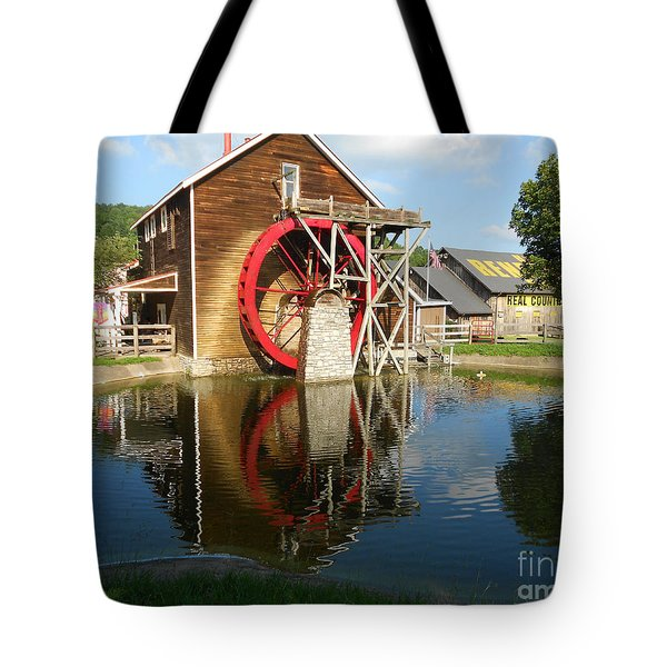 Tote Bag featuring the photograph Renfro Valley  Mill by Mary Carol Story