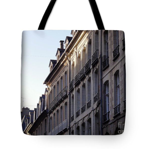 Rennes France 3 Tote Bag