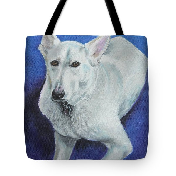 Tote Bag featuring the painting Reno by Jeanne Fischer