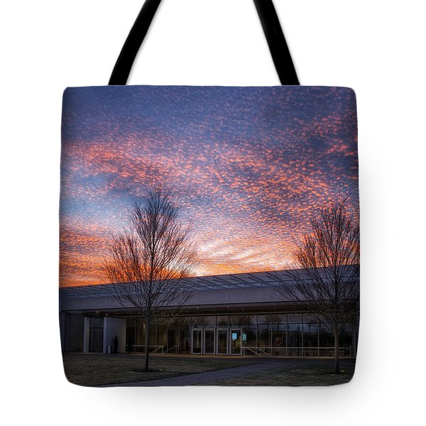 Renzo Piano Pavilion Tote Bag by Joan Carroll