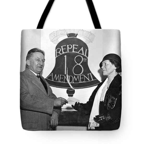 Repeal Prohibition Supporters Tote Bag
