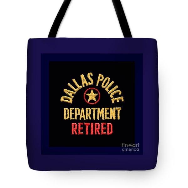 Replica D P D Patch - Retired Tote Bag