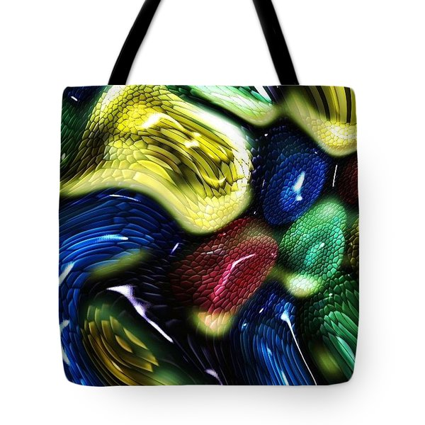 Reptile House Tote Bag by Alec Drake