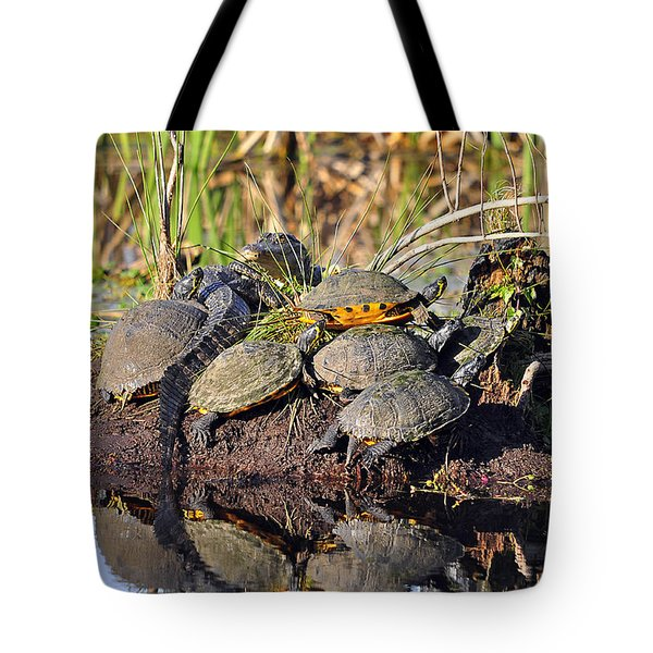 Reptile Refuge Tote Bag