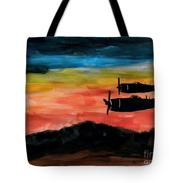 Republic P-47 Thunderbolts Tote Bag
