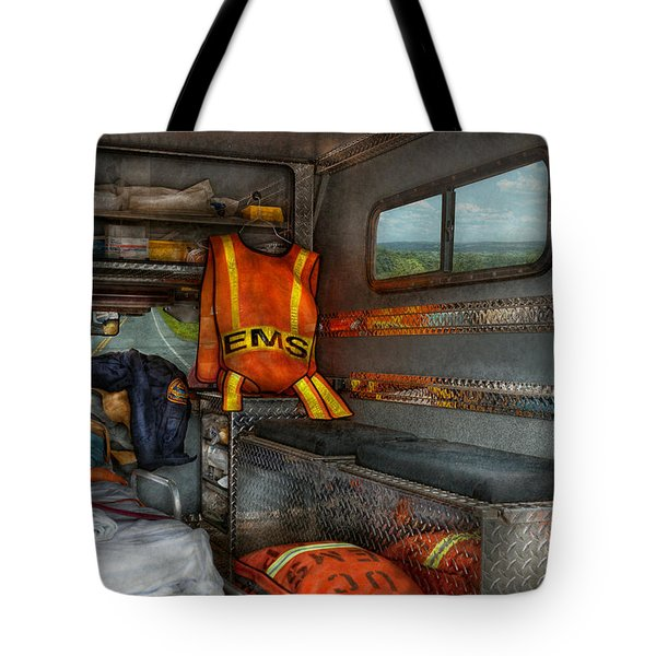 Rescue - Emergency Squad  Tote Bag