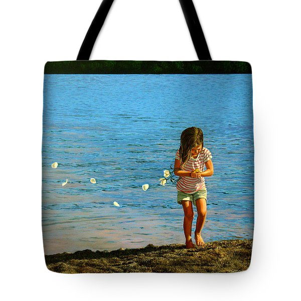 Rescuer Tote Bag by Christopher Shellhammer