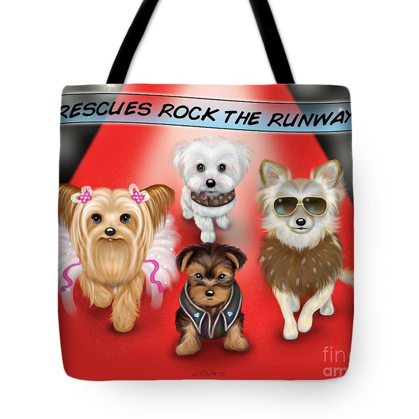 Rescues Rock The Runway Tote Bag