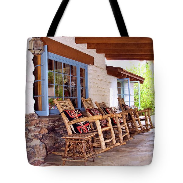 Reserved Seating Palm Springs Tote Bag by William Dey