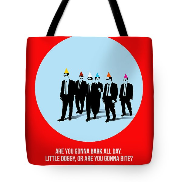 Reservoir Dogs Poster 1 Tote Bag by Naxart Studio