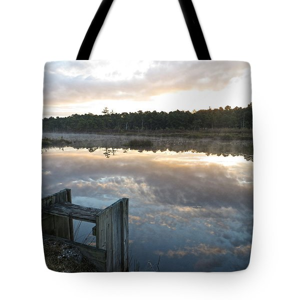 Reservoir Reflections Tote Bag