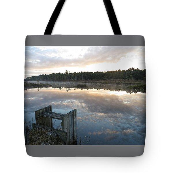 Reservoir Reflections Tote Bag