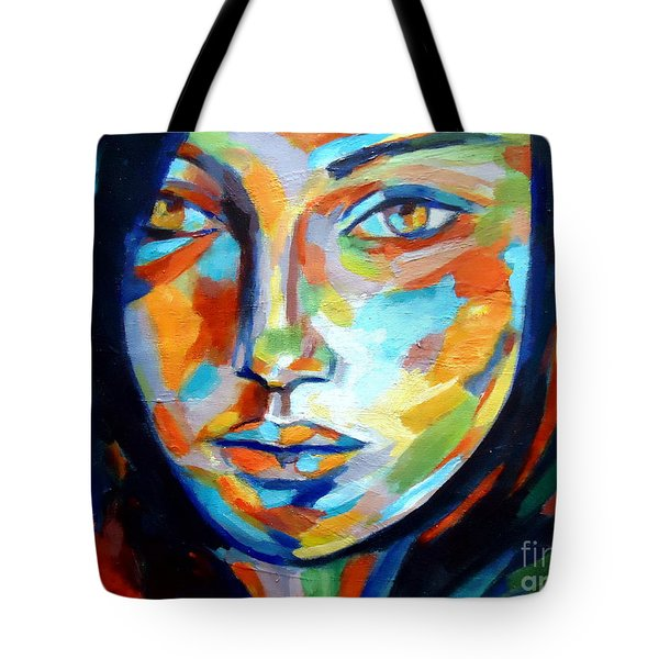 Resonance Tote Bag by Helena Wierzbicki