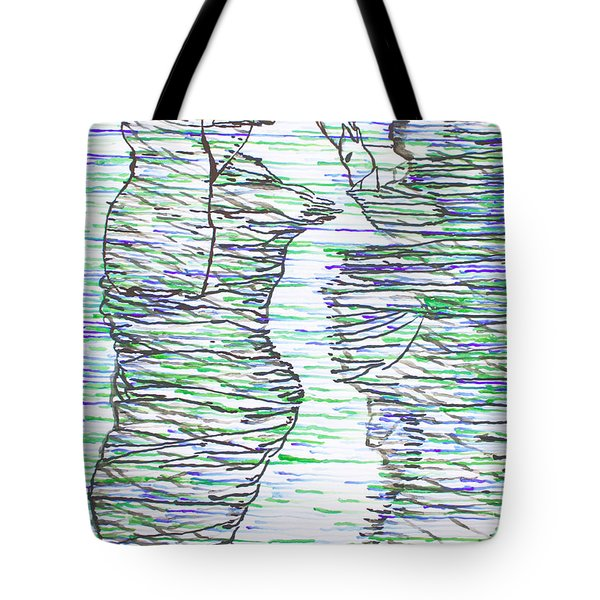 Ressurection Tote Bag by Gloria Ssali