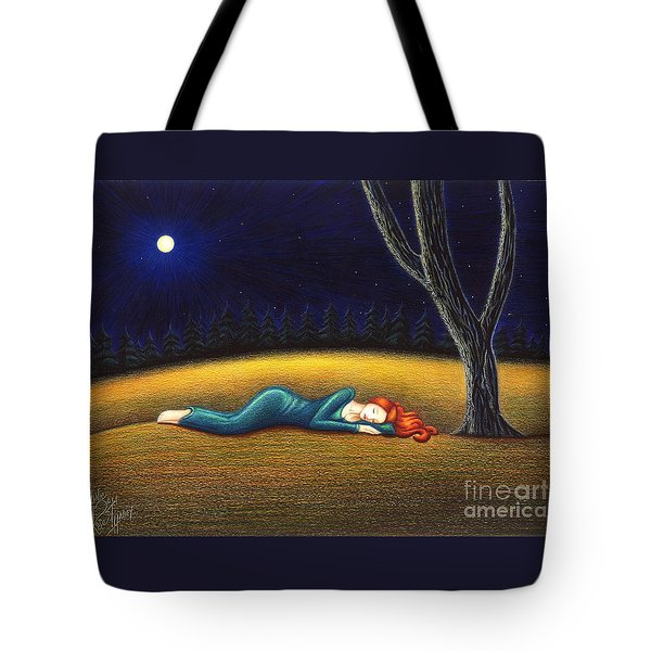Rest For A Weary Heart Tote Bag by Danielle R T Haney
