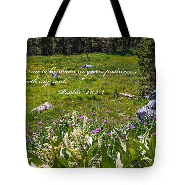 Rest For The Soul Tote Bag by Lynn Bauer