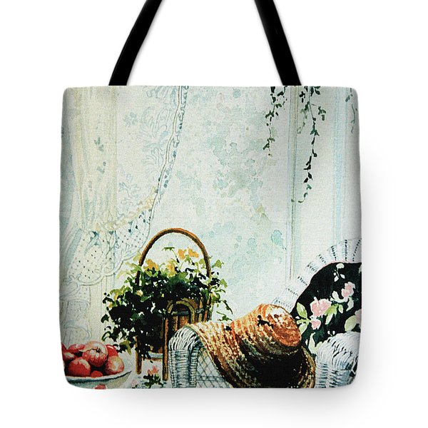 Rest From Garden Chores Tote Bag by Hanne Lore Koehler