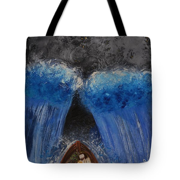 Rest In Him Tote Bag