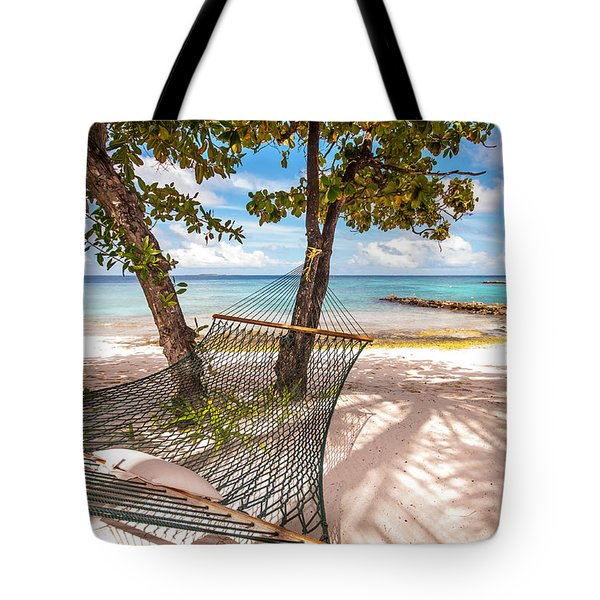 Rest In The Shadow Tote Bag by Jenny Rainbow