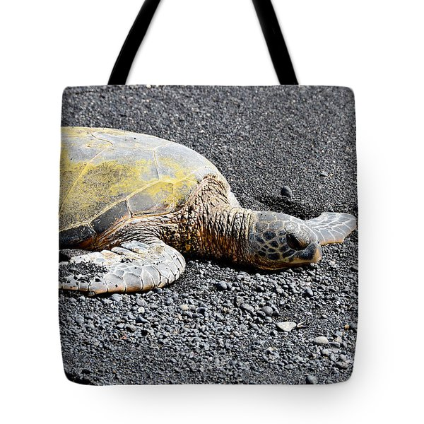 Tote Bag featuring the photograph Rest Time by David Lawson