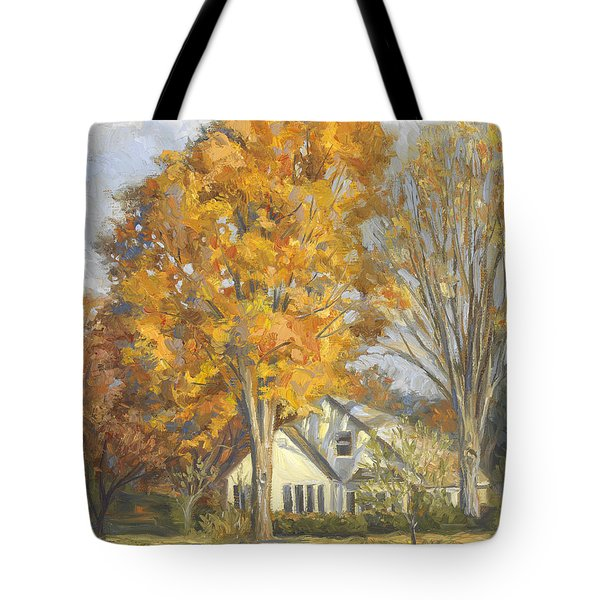 Restful Autumn Tote Bag