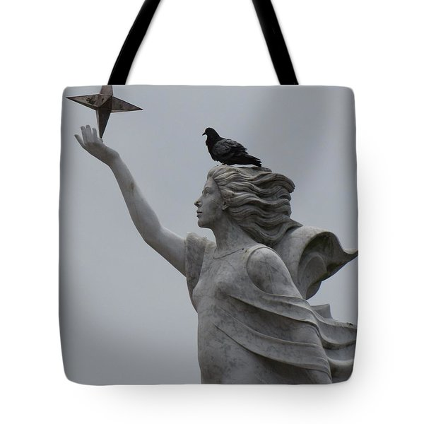 Tote Bag featuring the photograph Resting by Beth Vincent