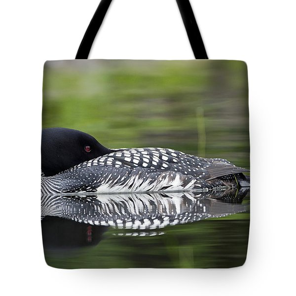 Resting Loon Tote Bag