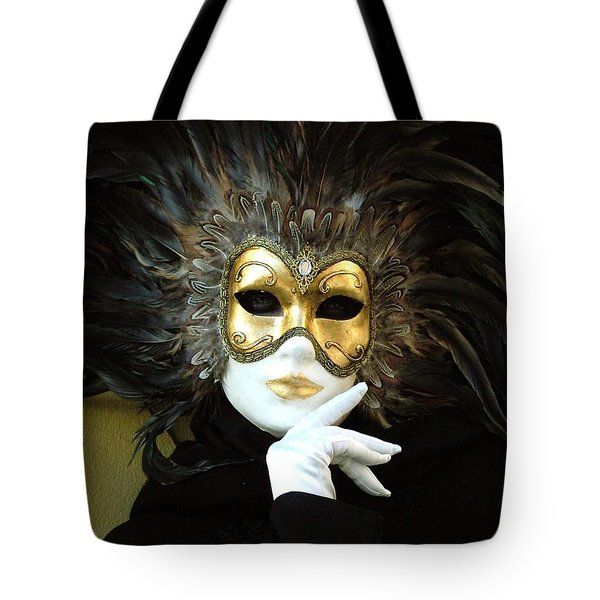 Resting On Her Hand Tote Bag