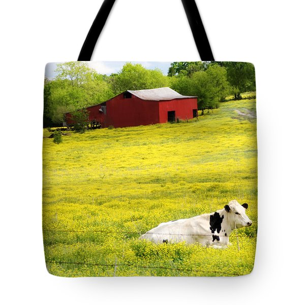 Resting Place Tote Bag by Amy Tyler