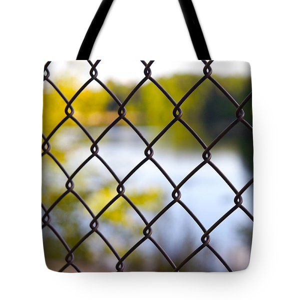 Tote Bag featuring the photograph Restricted Access by Michelle Joseph-Long