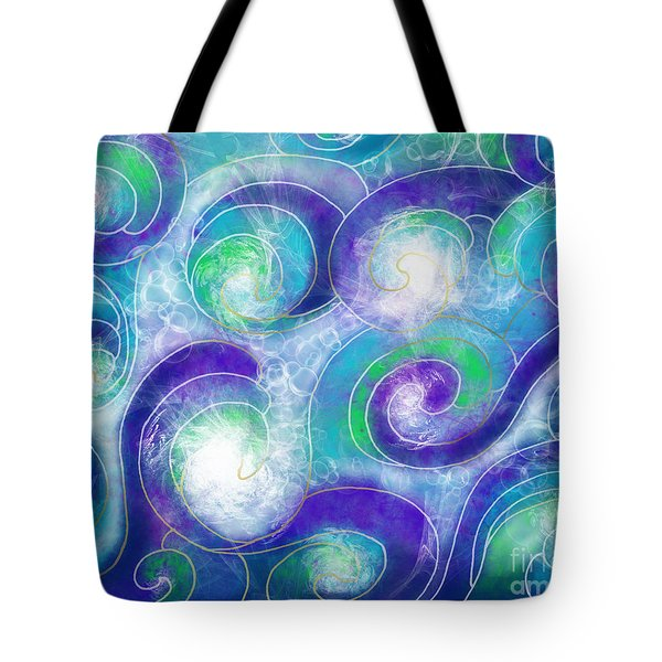Resurface - Refaire Surface Tote Bag by Louise Lamirande