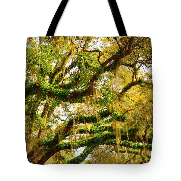 Resurrection Fern Tote Bag by Carla Parris