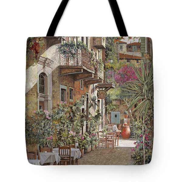 Rethimnon-crete-greece Tote Bag by Guido Borelli