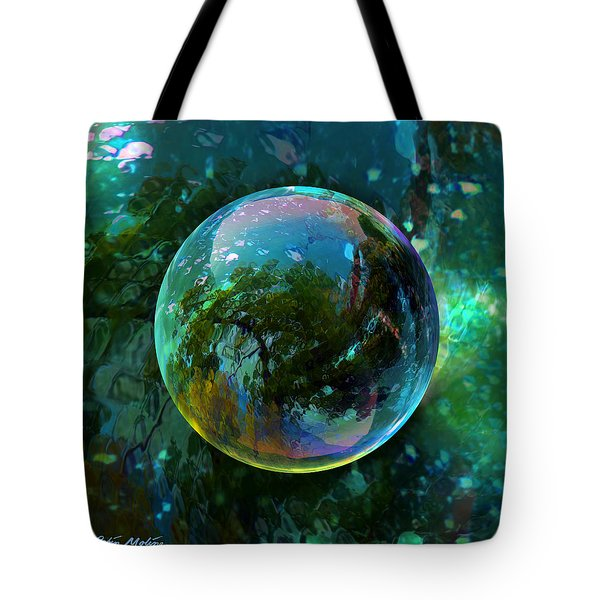 Reticulated Dream Orb Tote Bag