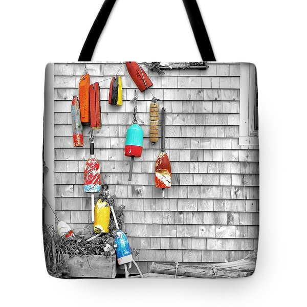 Retired Buoys Tote Bag