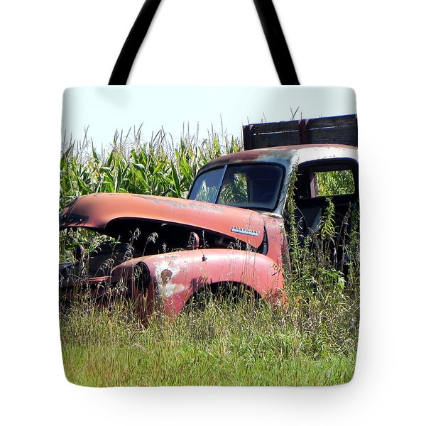 Tote Bag featuring the photograph Retired by Deb Halloran
