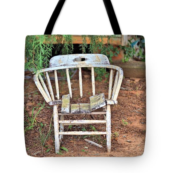 Tote Bag featuring the photograph Retired by Gordon Elwell