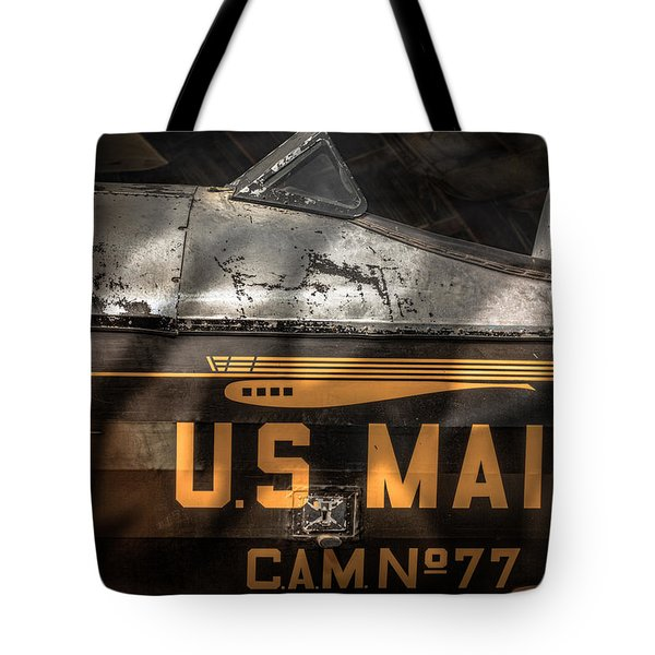 Retired Mail Carrier - Pitcairn P-6 Mailwing 1929 Tote Bag by Gary Heller