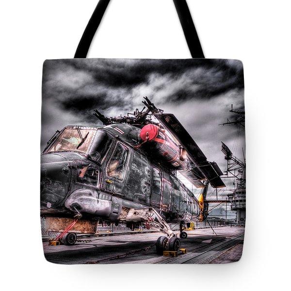 Retired Pilot Tote Bag