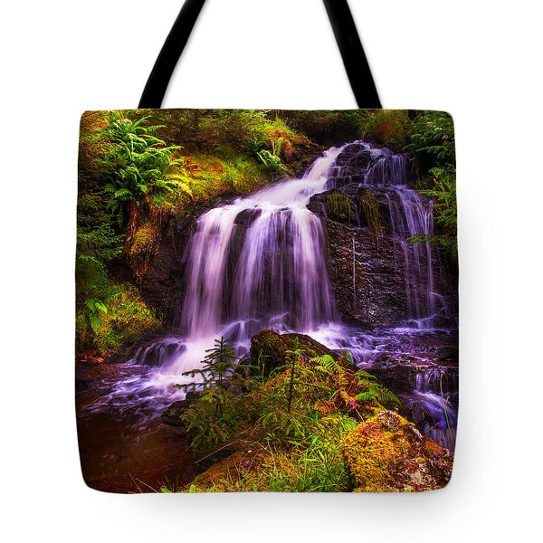 Retreat For Soul. Rest And Be Thankful. Scotland Tote Bag by Jenny Rainbow