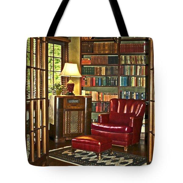 Retreat Tote Bag by Gwyn Newcombe