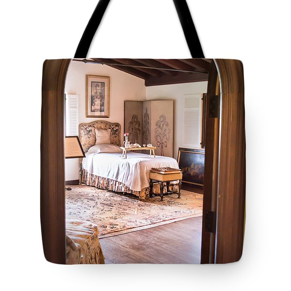 Retreat To The Past Tote Bag by Susan Molnar
