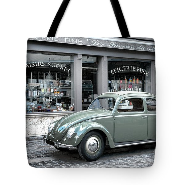 Retro Beetle Tote Bag