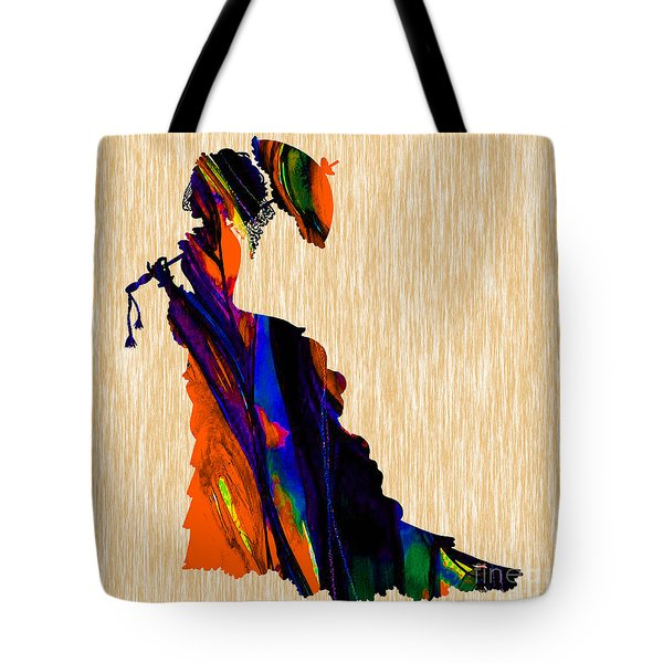 Retro Fashion Tote Bag by Marvin Blaine