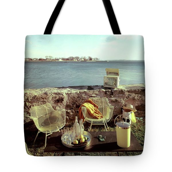 Retro Outdoor Furniture Tote Bag