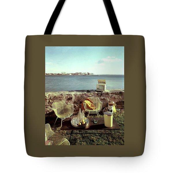 Retro Outdoor Furniture Tote Bag
